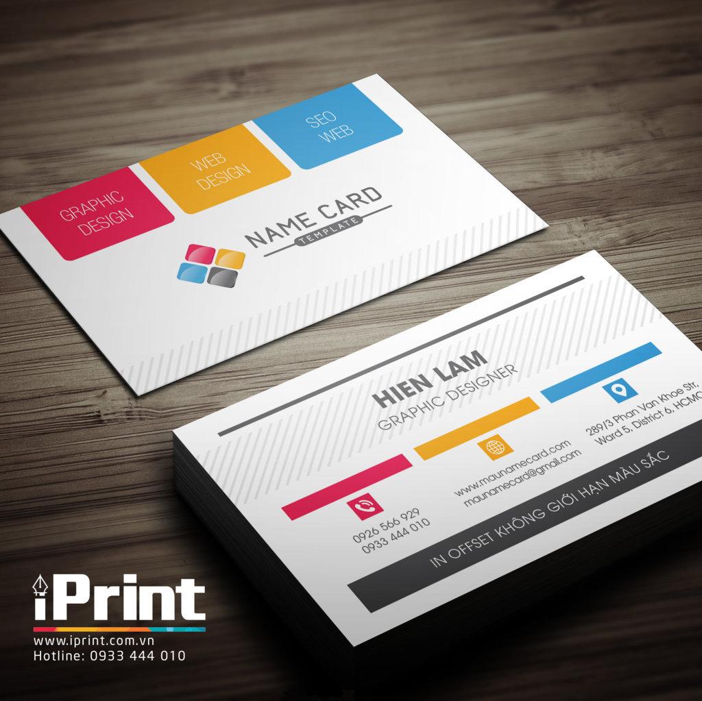 Namecard kinh doanh 3