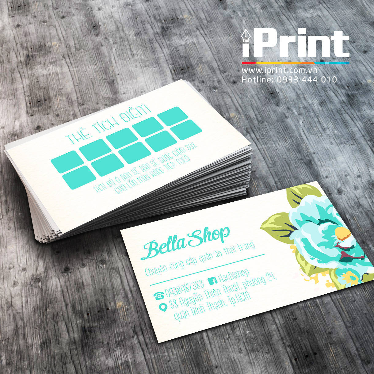 Name Card Shop Quần Áo 28