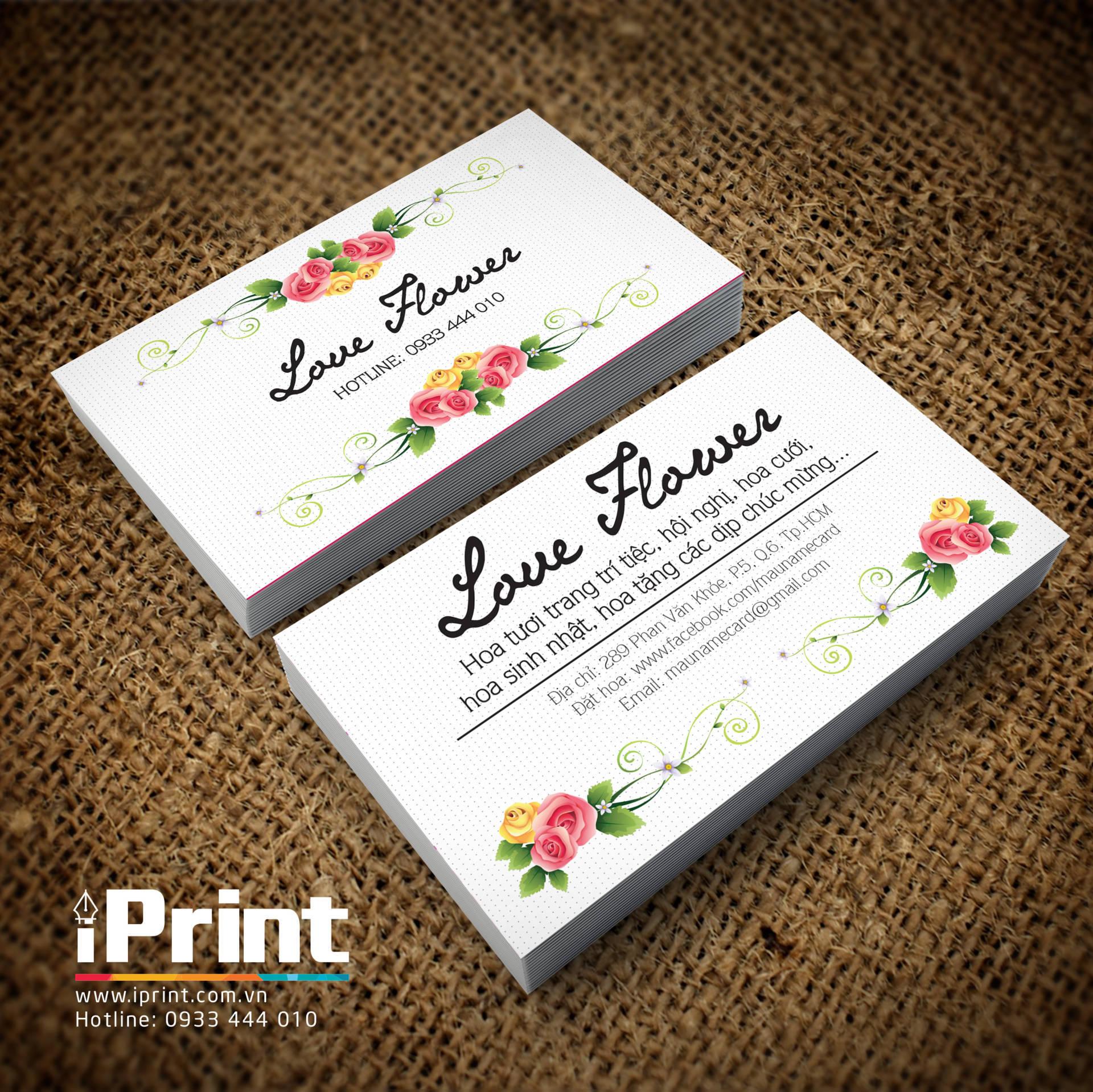 Name Card Shop Bán Hoa 35