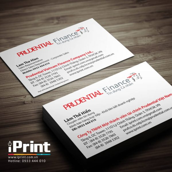 mau-name-card-bao-hiem-prudentail www.iprint.com.vn