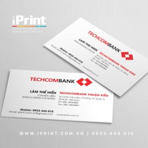 mau-name-card-ngan-hang-techcombank www.iprint.com.vn