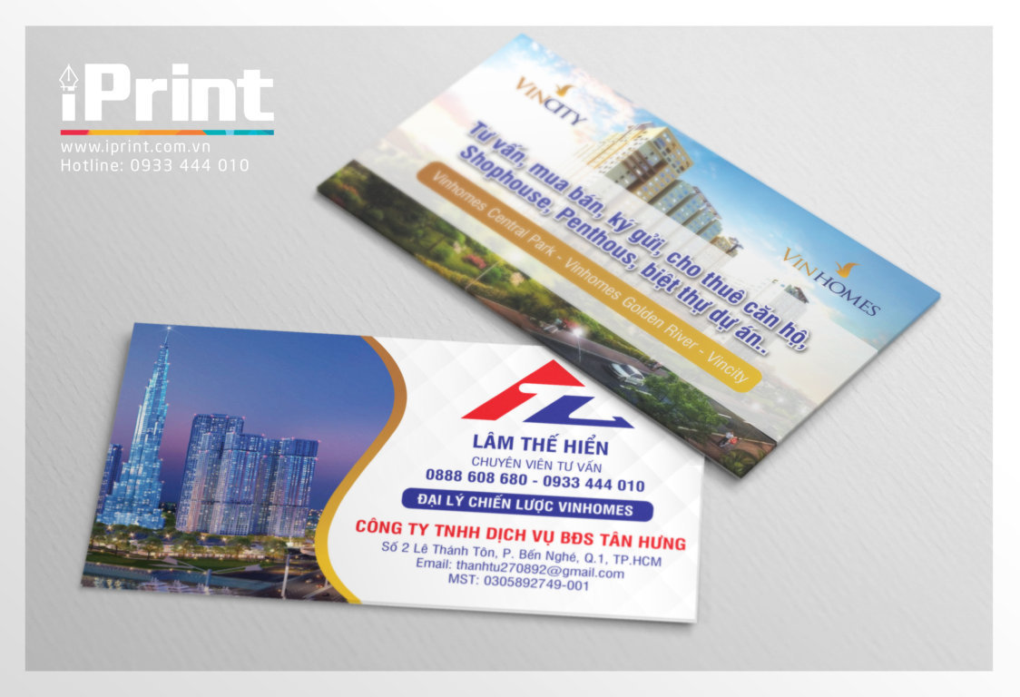 name-card-vinhome-tanhung www.iprint.com.vn